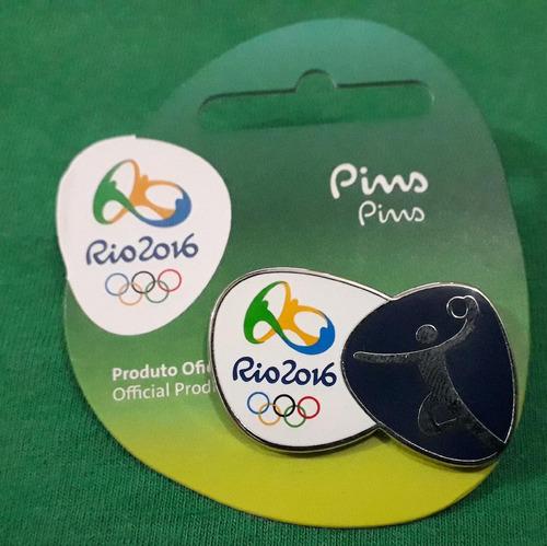 pin olímpico - rio 2016 - handebol - memorabilia