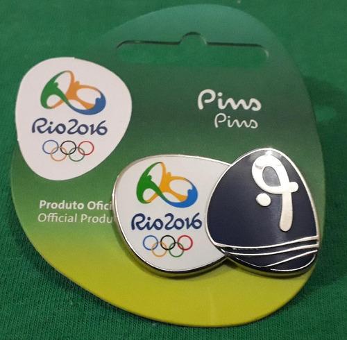 pin olímpico - rio 2016 - saltos ornamentais - memorabilia