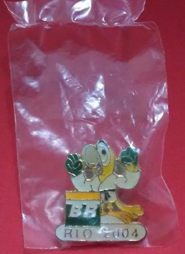 pin olímpico - rio cidade candidata 2004 - judô