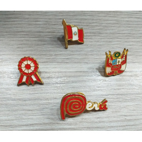 Pin Panamericanos Bandera Marca Peru