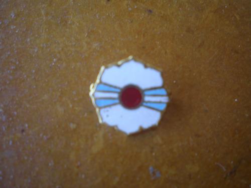pin prendedor esmaltado de la federacion argentina de yudo