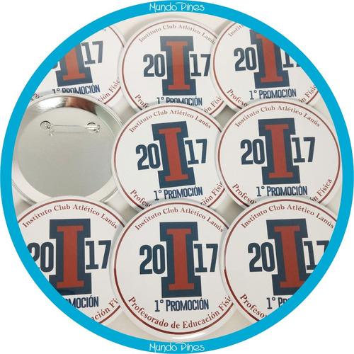 pin prendedor souvenirs personalizado 75mm