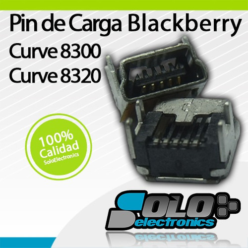 pin puerto de carga blackberry 8300 8310 8320 8330 original