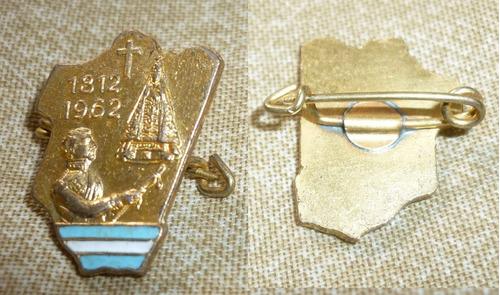 pin virgen de la merced batalla tucuman belgrano 1812 - 1962
