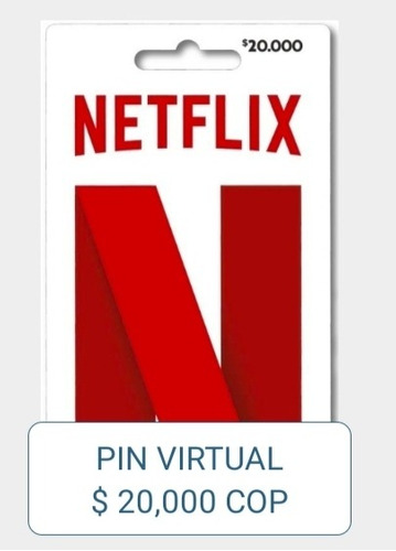 pin virtual netflix