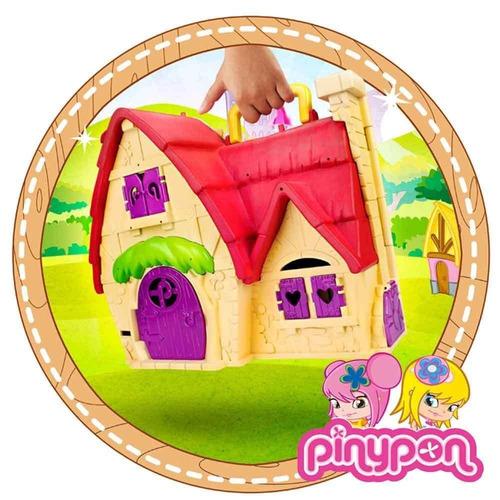pin y pon casa de cuentos con cenicienta y accesorios famosa