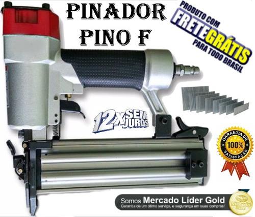 pinador pneumático p/ pino f 10 até 50mm p/ moveis madeira