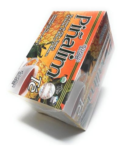 piñalim te original 30 sobres original 7 cajas