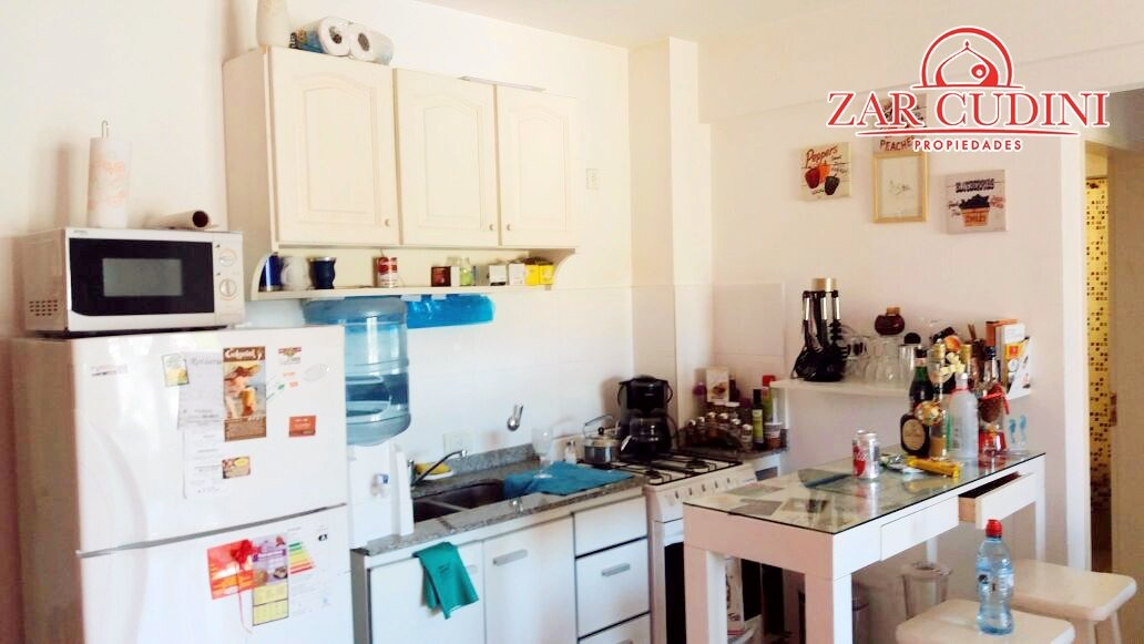 pinamar centro - departamento 2 ambientes -  terraza - parrilla - laundry  - cochera