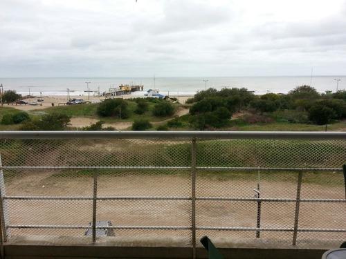 pinamar duplex frente al mar, fines semana y dic/feb