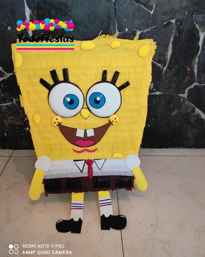 piñata bob esponja piñatas infantiles