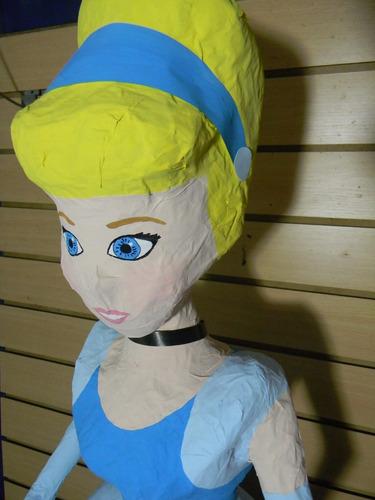 piñata cenicienta 1 mt princesas
