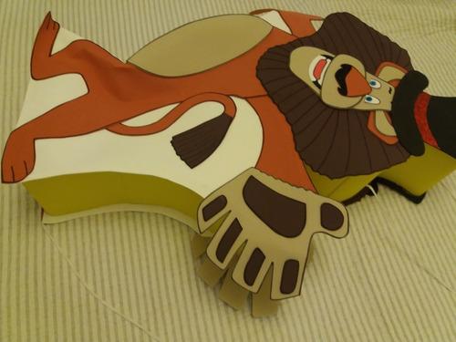 piñata cumpleaños alex el leon - madagascar