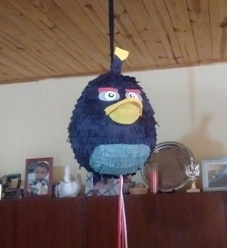 piñata de angry birds