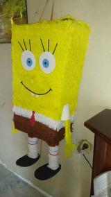 Piñata De Bob Esponja Artesanales