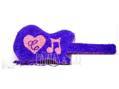 piñata de guitarra 3d