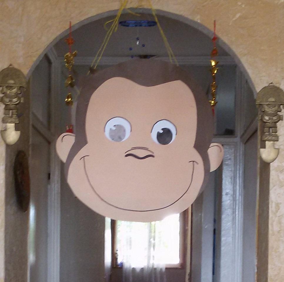 Piñata De Jorge El Curioso O A Elección - $ 5.500 en Mercado Libre