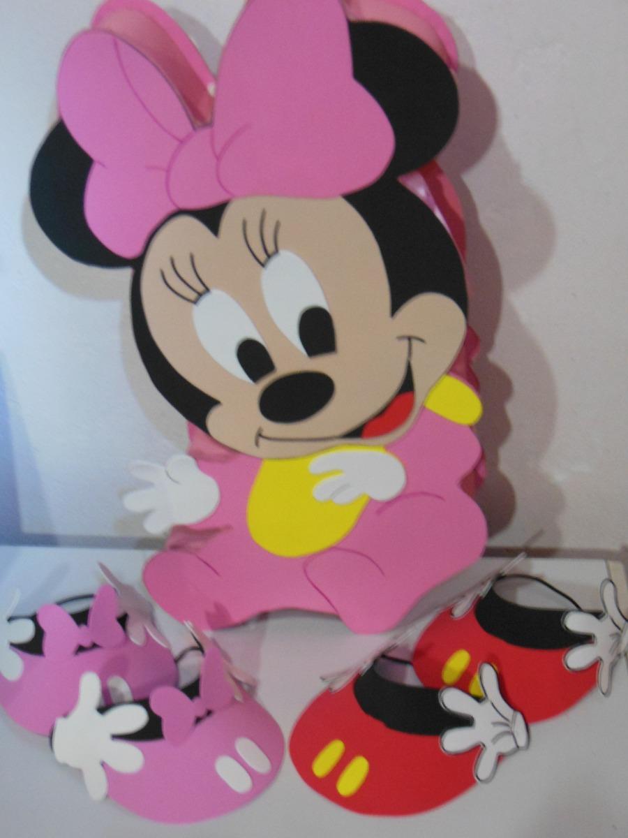 Piñata De Minnie Bebe - $ 330,00 en Mercado Libre