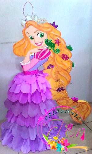 piñata de rapunzel