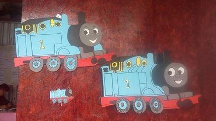 piñata de thomas el tren