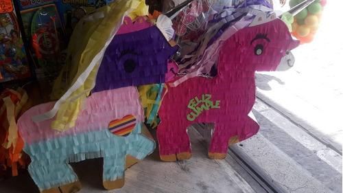 piñata de unicornio varios colores. se puede personalizar