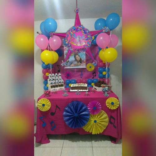 piñata decoración fiesta soy luna  fiestas infantiles