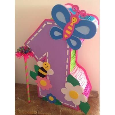Pi ata entamborada para fiestas infantiles modelos varios for Decoracion para pinatas