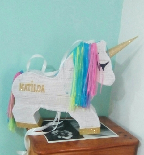 piñata infantil unicornio