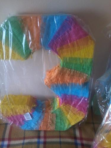 piñata mexicana  numero,.de 50cmts,.