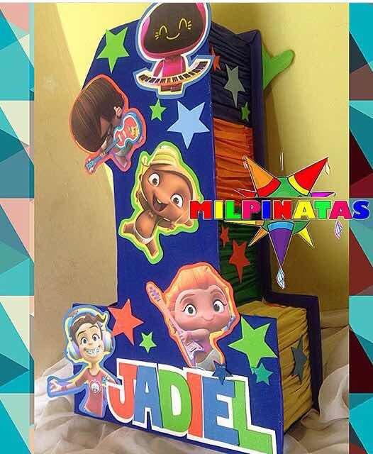 Piñata Mini Beat Power Rocket Piñatas Y Minipiñatas Bs 1000000