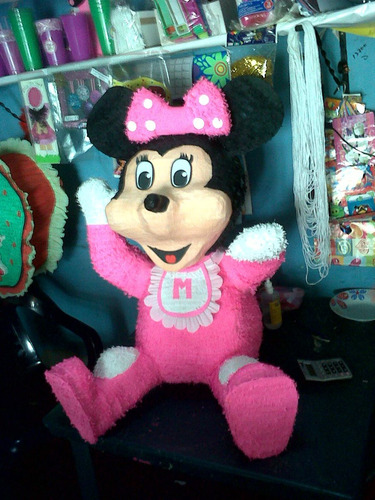 piñata minnie bebe