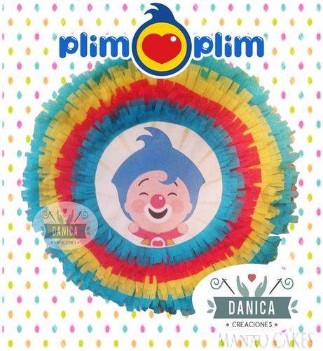 piñata payaso plim plim  excelente tamaño y calidad