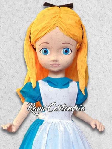 piñata princesa 80 cm, línea estándar