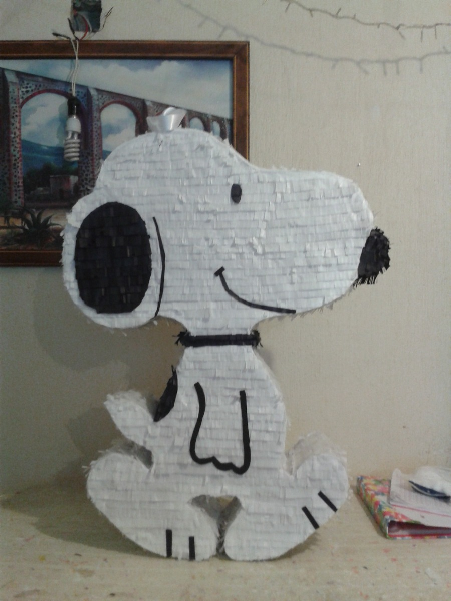 Piñata Snoopy Caricaturas - $ 349.00 en Mercado Libre