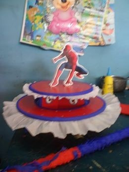 piñata spyderman hombre araña