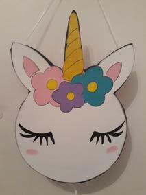Piñata Unicornio Cabeza Cara