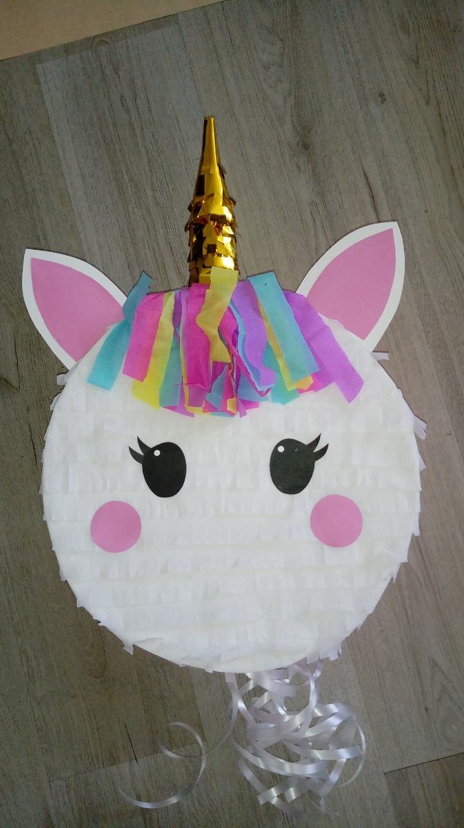Piñata Unicornio Redonda Modelo 2