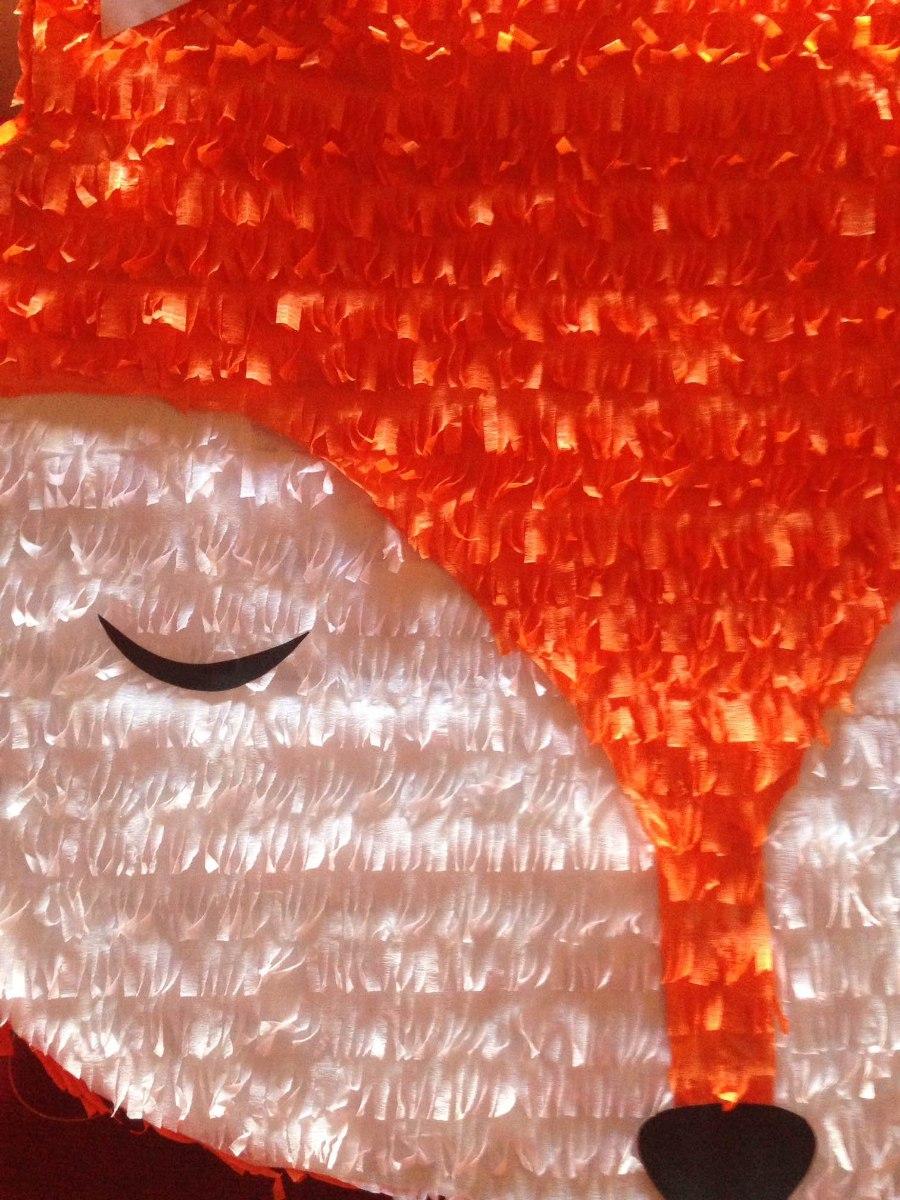 Pinata Zorro Fox Animales Del Bosque Woodland Cumpleanos 670 00