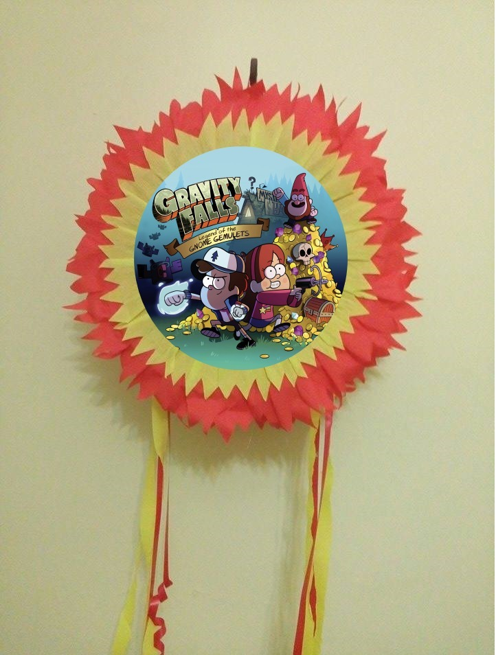 Pinatas Cotillon Cumpleanos Gravity Falls 325 00 En Mercado Libre