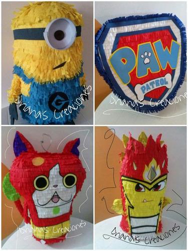 piñatas entamboradas fiestas infantiles personalizadas