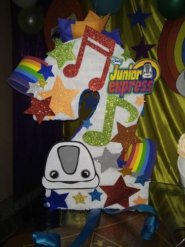 piñatas forma números