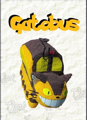 piñatas geek: gatobus totoro