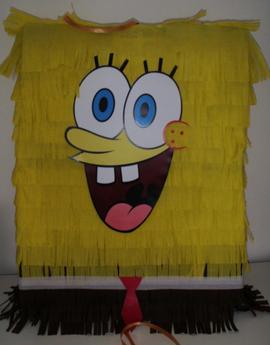 Piñatas P Cumpleaños Bob Esponja