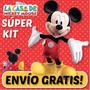 2 X1 Kit Imprimible La Casa Mickey Mouse Invitaciones