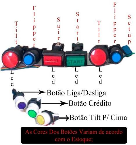 pinball digital kit - 3d de profundidade (frete grátis)