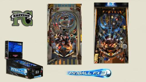 pinball fx3 full - descargable para modo vertical o gabinete
