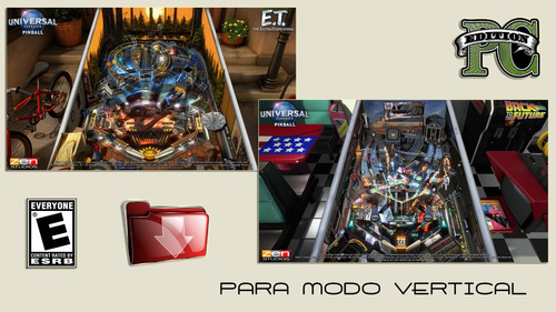 pinball fx3 full - descargable para modo vertical o gabinete