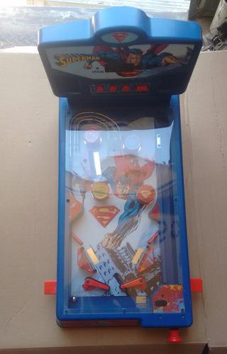 pinball juguete juego de mesa superman
