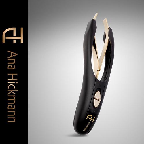 pinça ana hickmann depil precision - preto - relaxbeauty