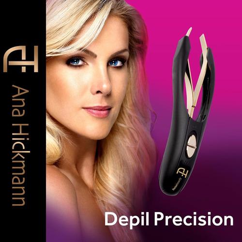 pinça automática depil precision com luz de led